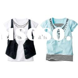 baby short sleeves cotton t-shirt,baby clothes