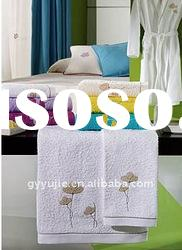 cotton bath towel with embroidery logo