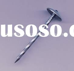electrical galvanized Roofing nails umbrella head