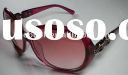 fashion red cheap name brand sunglasses