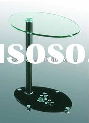 hot sell modern design small glass top side table