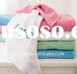 hotel bath towels with embroidery logo