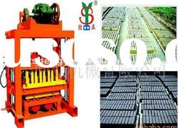 manual concrete hollow block making machine price (QTJ4-40B)