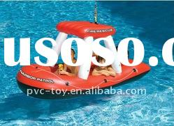 new design PVC inflatable water toys for boats 2011