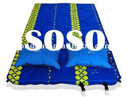 pisces double person inflatable camp mat hiking mat picnic mat