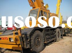 used rough crane KATO 50tons working capacity With high quality and in BEST price