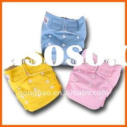 waterproof PUL material baby cloth diaper/nappy reusable washable with 8 bright colors