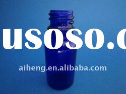 10ml Small blue Glass essential oil bottle