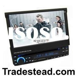1-Din 7 inch Touch TFT Car DVD Player With Bluetooth/iPod Ready/SD Card Reader & AM/FM Radio