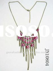 2012 Fashion Latest Charm Necklace with Tassels