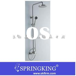2012 Top Quality Luxury Wall Mounted Bathroom Rain Shower mixer Faucet Set