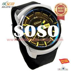2012 latest design silicone band large size men sport watches