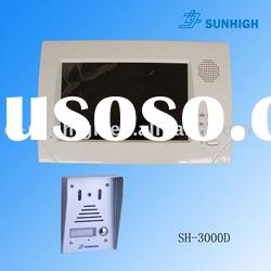7 inch Hand Free Color Video Door Phone for Apartment