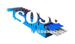 840-900 manual double layer colored steel tile roll forming machine