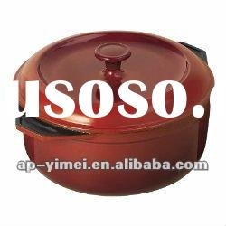 Anping Emay factory enamel cast iron casserole red