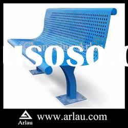Arlau FS70 Outdoor Blue Punched Metal Bench