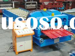Colored steel roof panel roll forming machine XF840