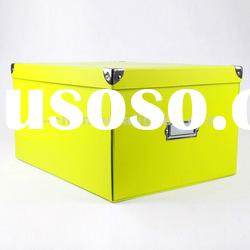 Colorful Foldable Cardboard Box for Storage