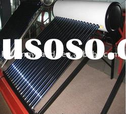 Compact pressurized solar water heater for cold area