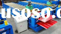 Hidden style Colored steel roof panel roll forming machine