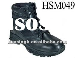 LY,Made in China custom made ankle army tactical boots black