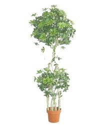 New Artificial ficus tree with two branches