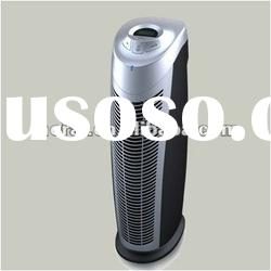Portable HEPA filter air purifier with activated carbon