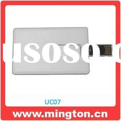 Promotional gift credit card usb