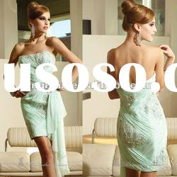 SC1562 Charming beaded chiffon short girls party dresses by Terani couture