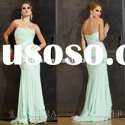 SC1570 Glamorous latest dress designs chiffon evening dress fashion 2012 by Terani couture