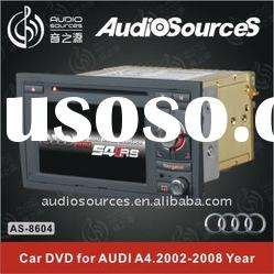 Special Car dvd for AUDI A4 2002-2007 Year and Seat 2010-2012 year with BT,GPS,DVB-T,TMC,etc