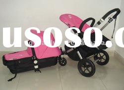 The limited Pink color of bugaboo bee stroller