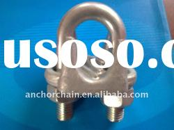 US type drope forged wire rope clips / clamp
