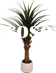 artificial small screw-pine tree for decoration