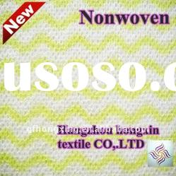 colorful apertured spunlace non woven fabric for dry wiper