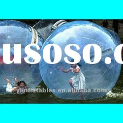 enjoyable blue inflatable water party bubble ball /bubble sphere
