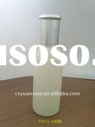 frosted glass cosmetic Bottle with pump