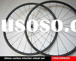 full carbon fiber road clincher wheels,sample and paypal ok