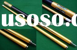 high quality and golden custom maple pool cues