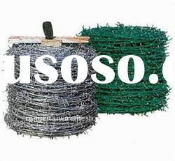 hot dippped galvanized and electro galvanized barbed wire price per roll