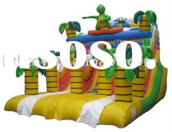 hot selling yellow inflatable slide popular for summer use