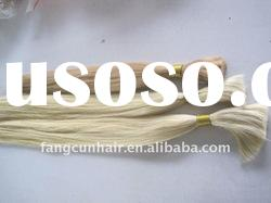 most soft remy indian hair bulk shining color