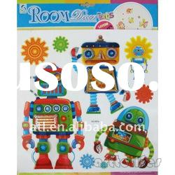 new Multilayer cartoon gifts stickers!Promotional kids gifts sticker