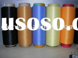 polyester DTY yarn 150D/48F, TBR, optical white color