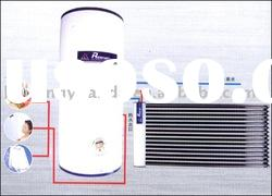 split high pressurized solar water heater system