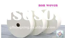 white plain nonwoven fabric for substrate