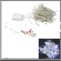 10M 100 LED Blue + White Color Party String Fairy Light
