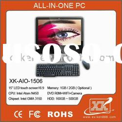 "15.6 "" all in one lcd pc & desktops ( XK-AIO-1506)"