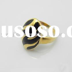 18k gold plated fashion ring