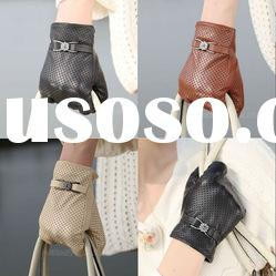 2012 High Quality fashion ladies leather gloves